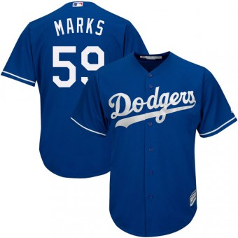 Replica Los Angeles Dodgers Justin Marks Majestic Cool Base Alternate Jersey - Royal